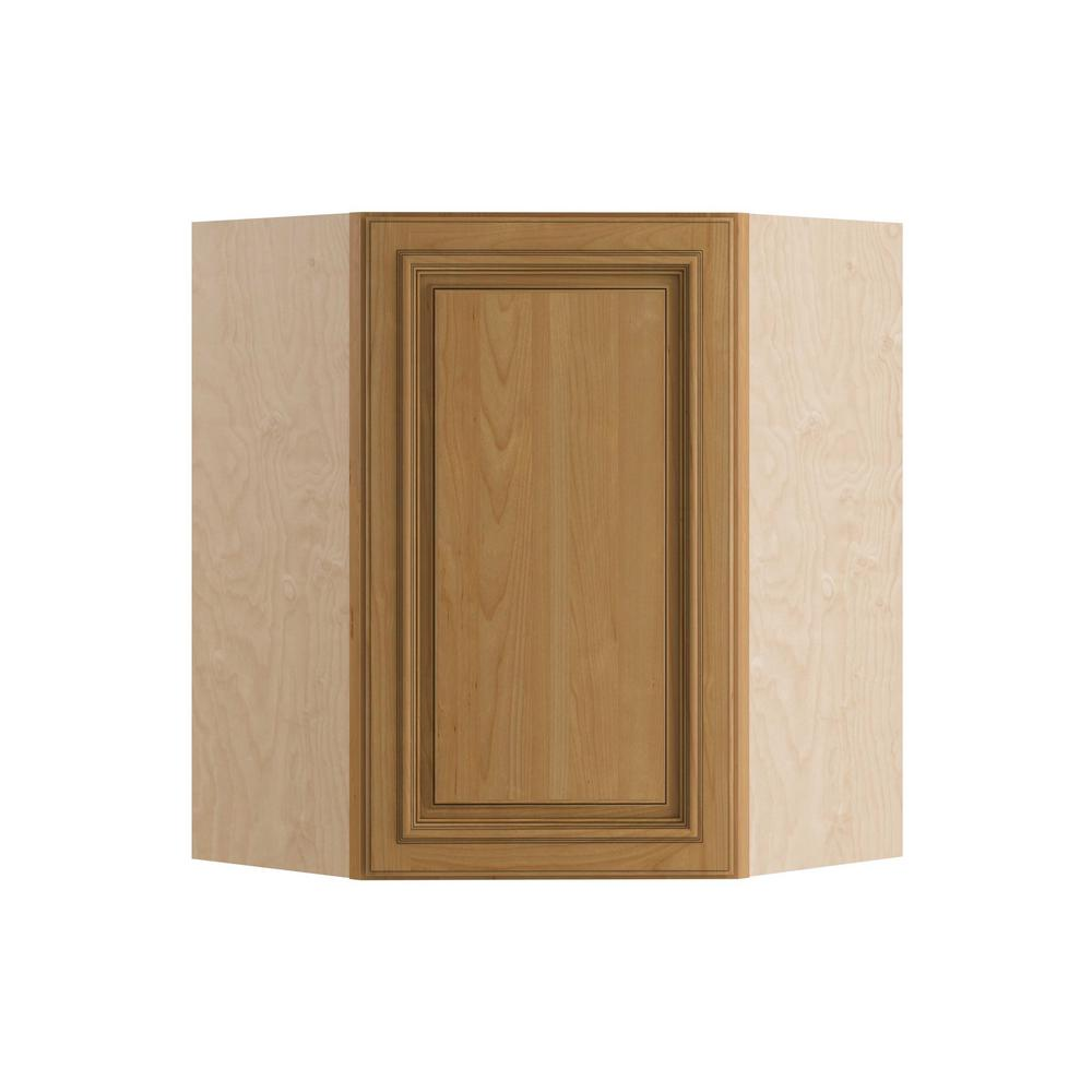 Home Decorators Collection 24x30x12 In Clevedon Embled Wall Angle Cabinet With 1 Door Left Hand