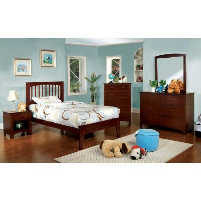 Pine Brook Full Bed in Cherry finish