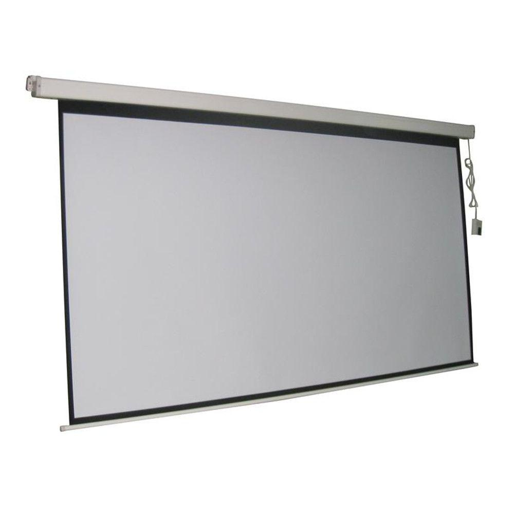 Electric Projection Screen With White Frame