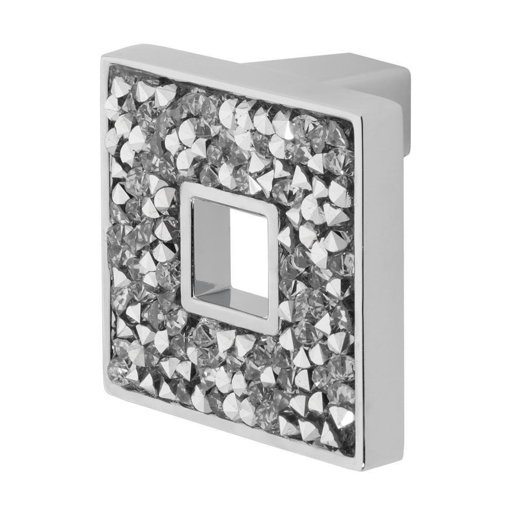 Wisdom Stone Carraway 1-5/16 inch Chrome Cabinet Knob by Wisdom Stone