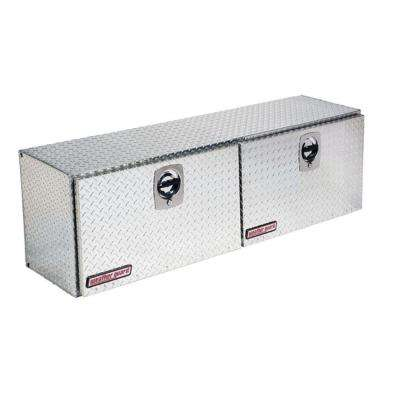 64.25 Diamond Plate Aluminum Full Size Top Mount Truck Tool Box