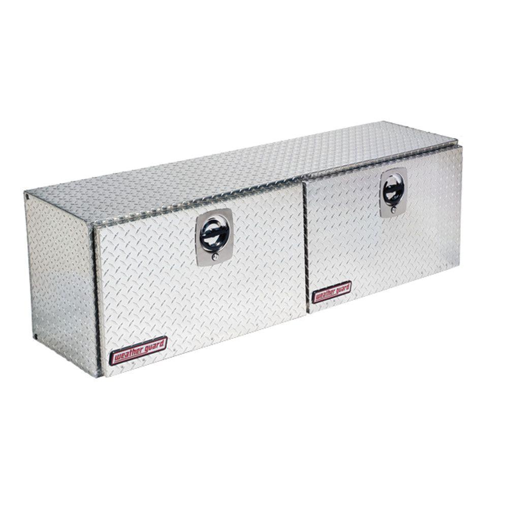 Aluminum Super High Side Box  sc 1 st  The Home Depot & Jobox JOBOX 58-1/2 in. Long Aluminum Inner Side Box in Bright ... Aboutintivar.Com
