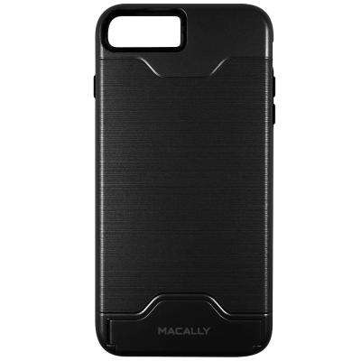 Dual Layer Protective Case with Kickstand for iPhone 7 Plus, Black