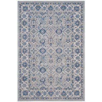 Artisan Silver/Ivory 7 ft. x 9 ft. Area Rug