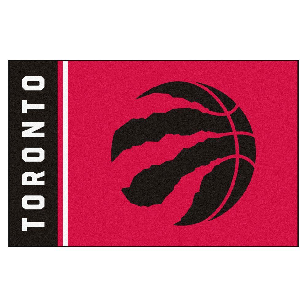 Fanmats Nba Toronto Raptors Red 2 Ft X 3 Ft Area Rug