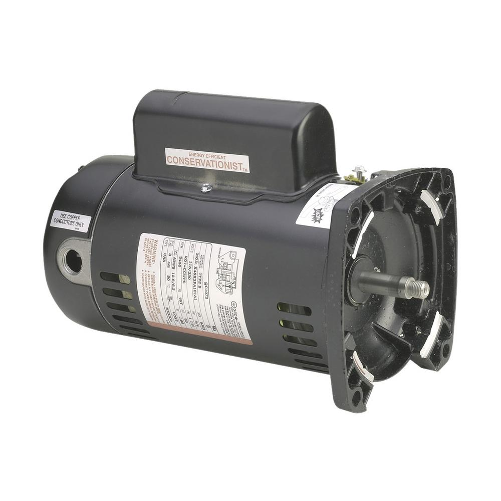 Century 2 HP Single Speed Full Rate Replacement Motor