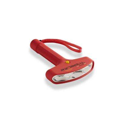 Ultra Compact Mini Flashlight in Red