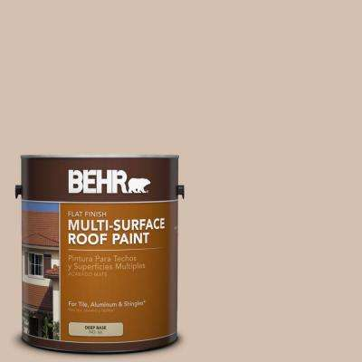 1 gal. #RP-16 Claybrook Flat Multi-Surface Exterior Roof Paint