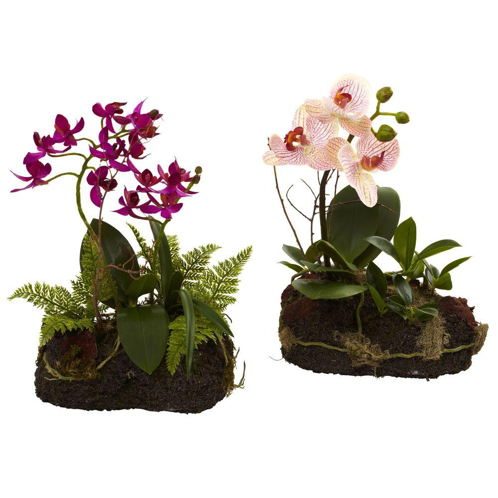 Blue Orchid Artificial Flowers Compare Prices At Nextag