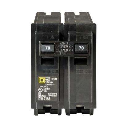 Homeline 70 Amp 2-Pole Circuit Breaker