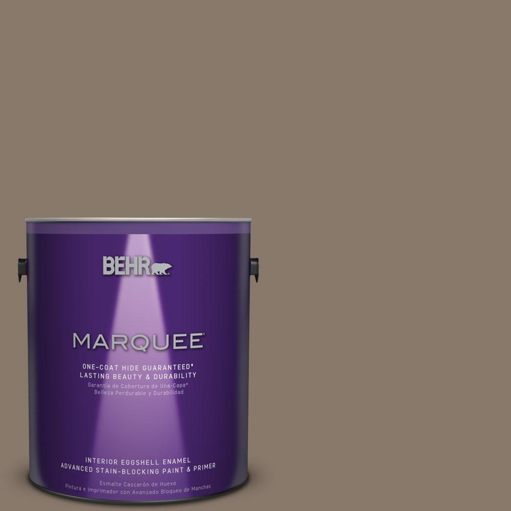 1 gal. #MQ2-38 Grizzly One-Coat Hide Eggshell Enamel Interior Paint