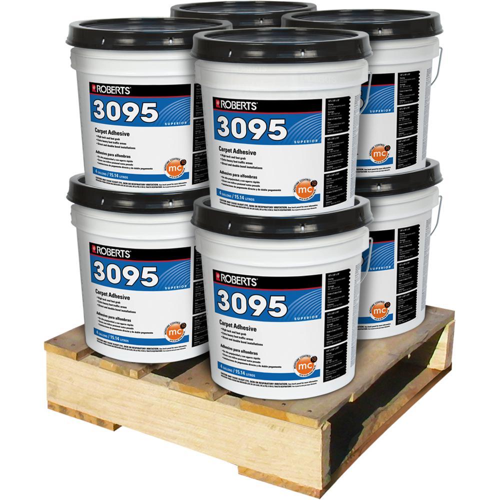 4 Gal. Superior Fast Grab Carpet Glue Adhesive (8-Pallet)