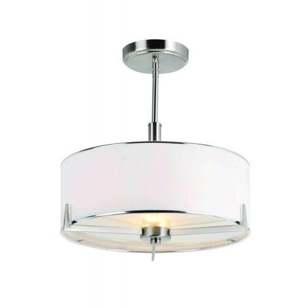 Bel Air Lighting Cabernet Collection 2 Light Brushed