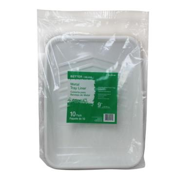 9 in. Plastic Tray Liner (10-Pack)