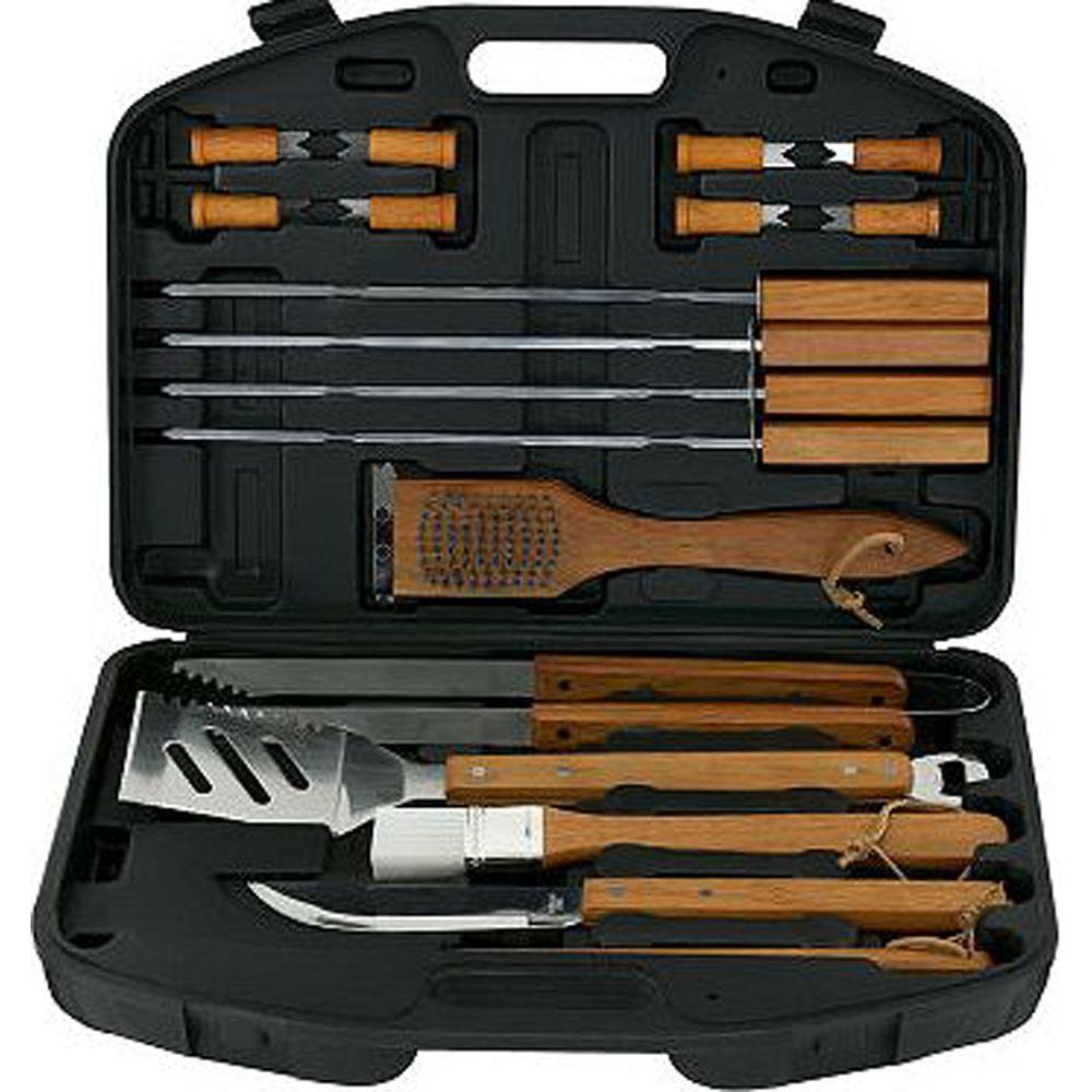 Mr Bar B Q 18 Piece Bbq Tool Set