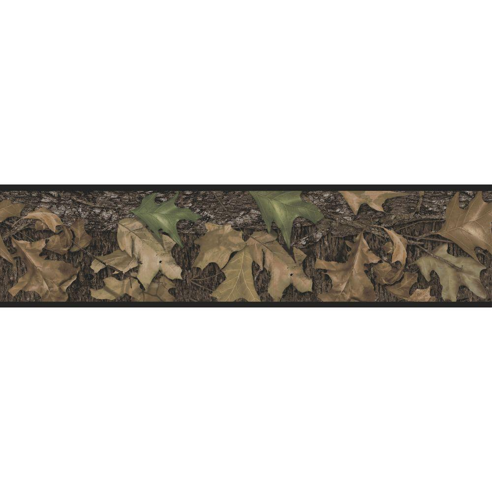 RoomMates Mossy Oak Camouflage Peel and Stick Wallpaper B...