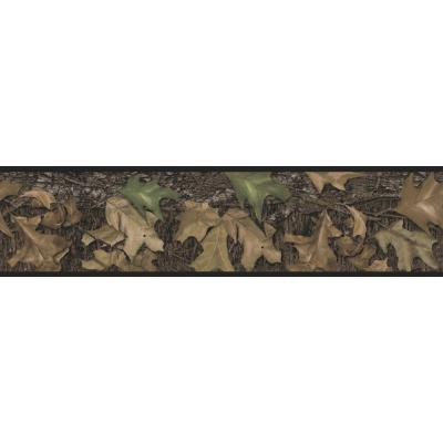 Mossy Oak Camouflage Peel and Stick Wallpaper Border