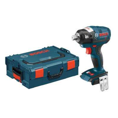 18 Volt Lithium-Ion Cordless 1/2 in. Brushless Square Drive Impact Wrench Kit with Detent Pin and Hard Case (Tool-Only)