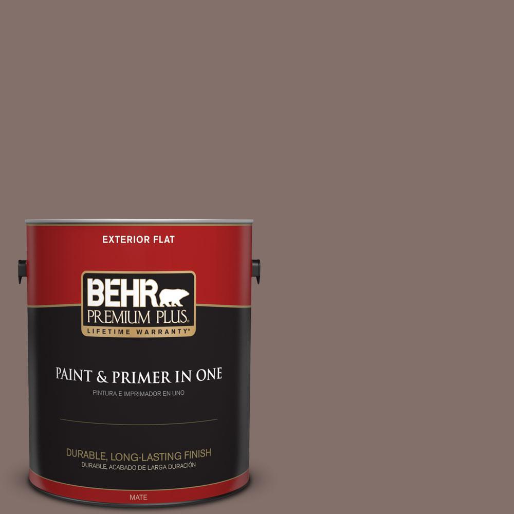 1-gal. #740B-5 Bradford Brown Flat Exterior Paint