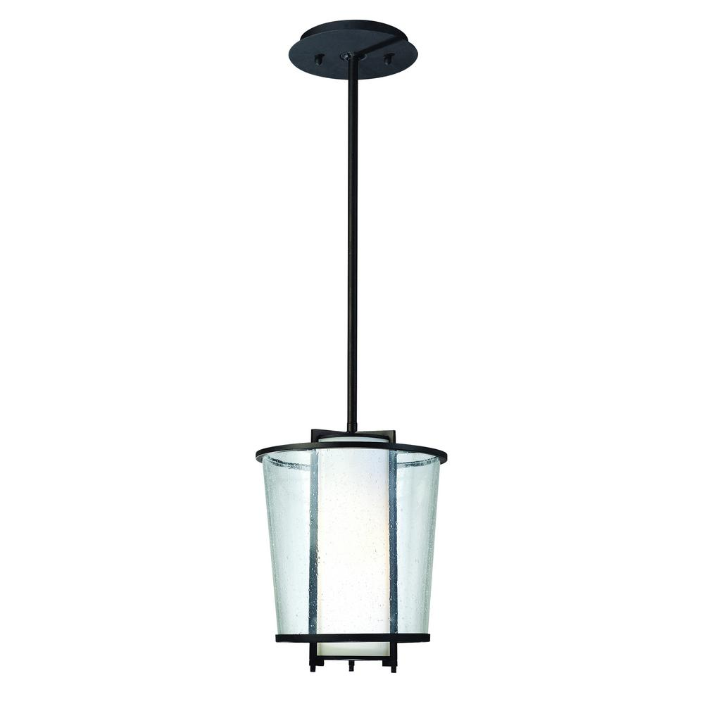Bennington 1-Light Forged Bronze Outdoor Pendant