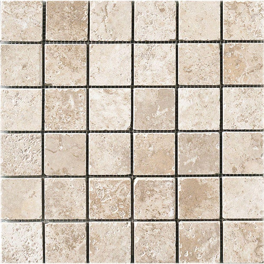 MARAZZI Montagna Lugano 12 in. x 12 in. x 8 mm Porcelain Mosaic Floor and Wall Tile
