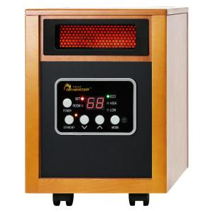 Original 1500-Watt Infrared Portable Space Heater with Dual Heating System