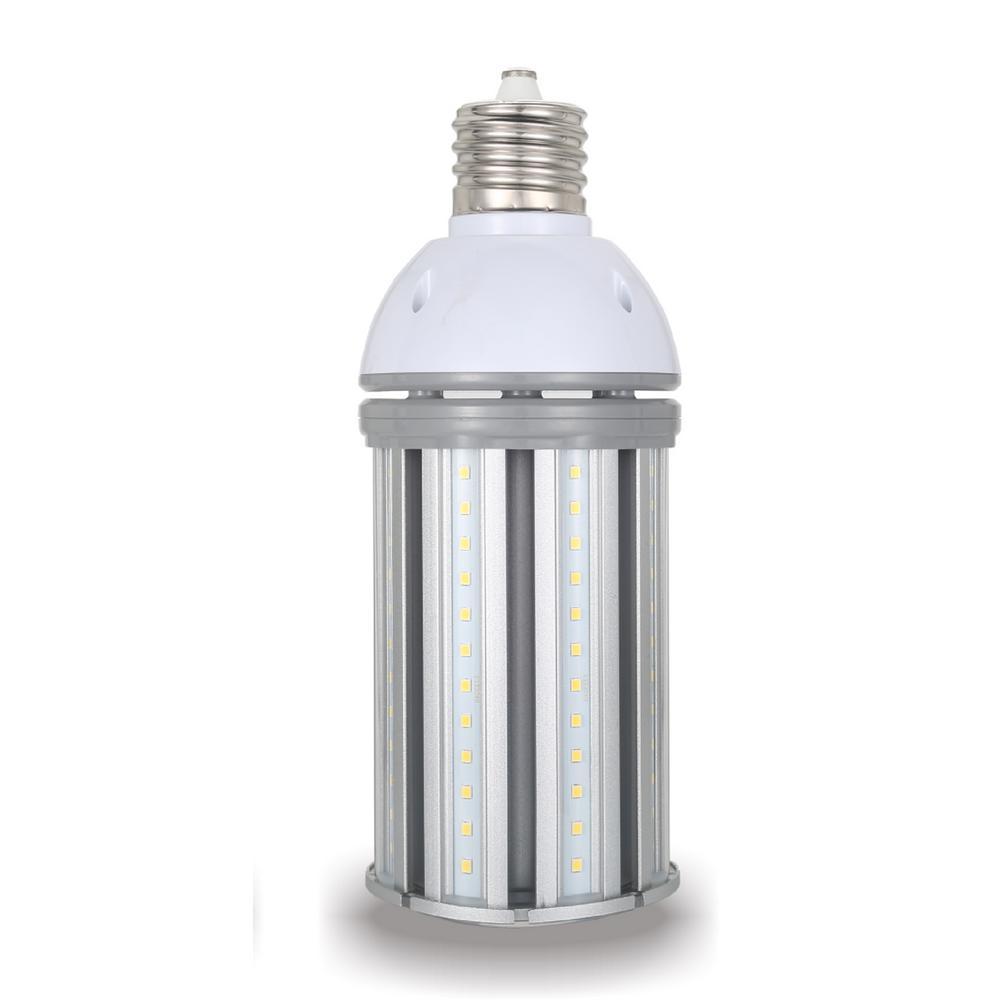 Halco Lighting Technologies 150-Watt Equivalent 36-Watt Corn Cob ED28 HID LED Post Top Bypass Light Bulb Mog 120-277-Volt Cool White 4000K