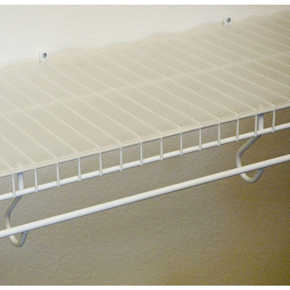 Clear Ribbed Shelf Liner (Set of 6)