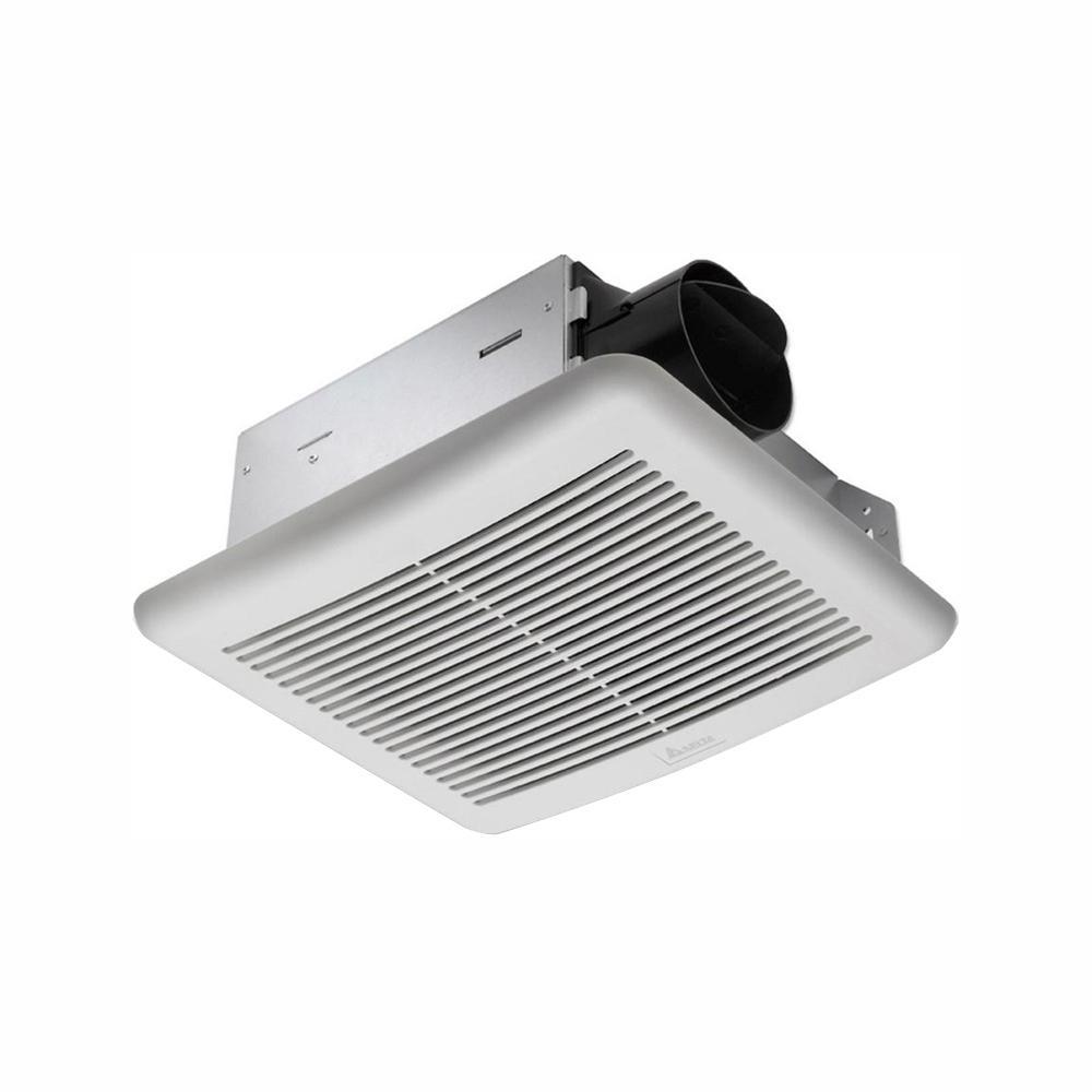 Delta Breez Slim Series 70 CFM Wall or Ceiling Bathroom Exhaust Fan, ENERGY STAR