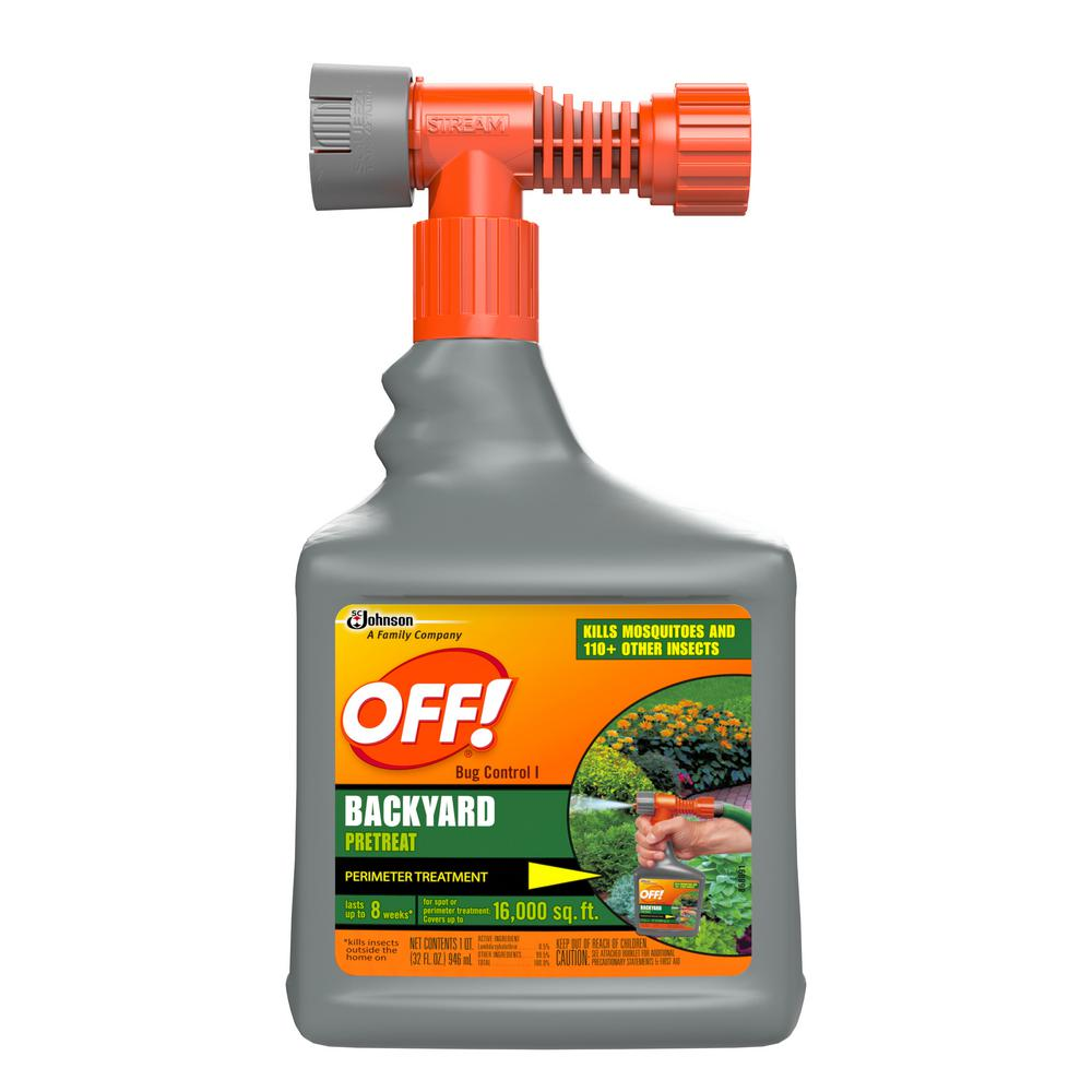 Bug Control Backyard Pretreat - OFF! 32 Oz. Bug Control Backyard Pretreat-621878 - The Home Depot
