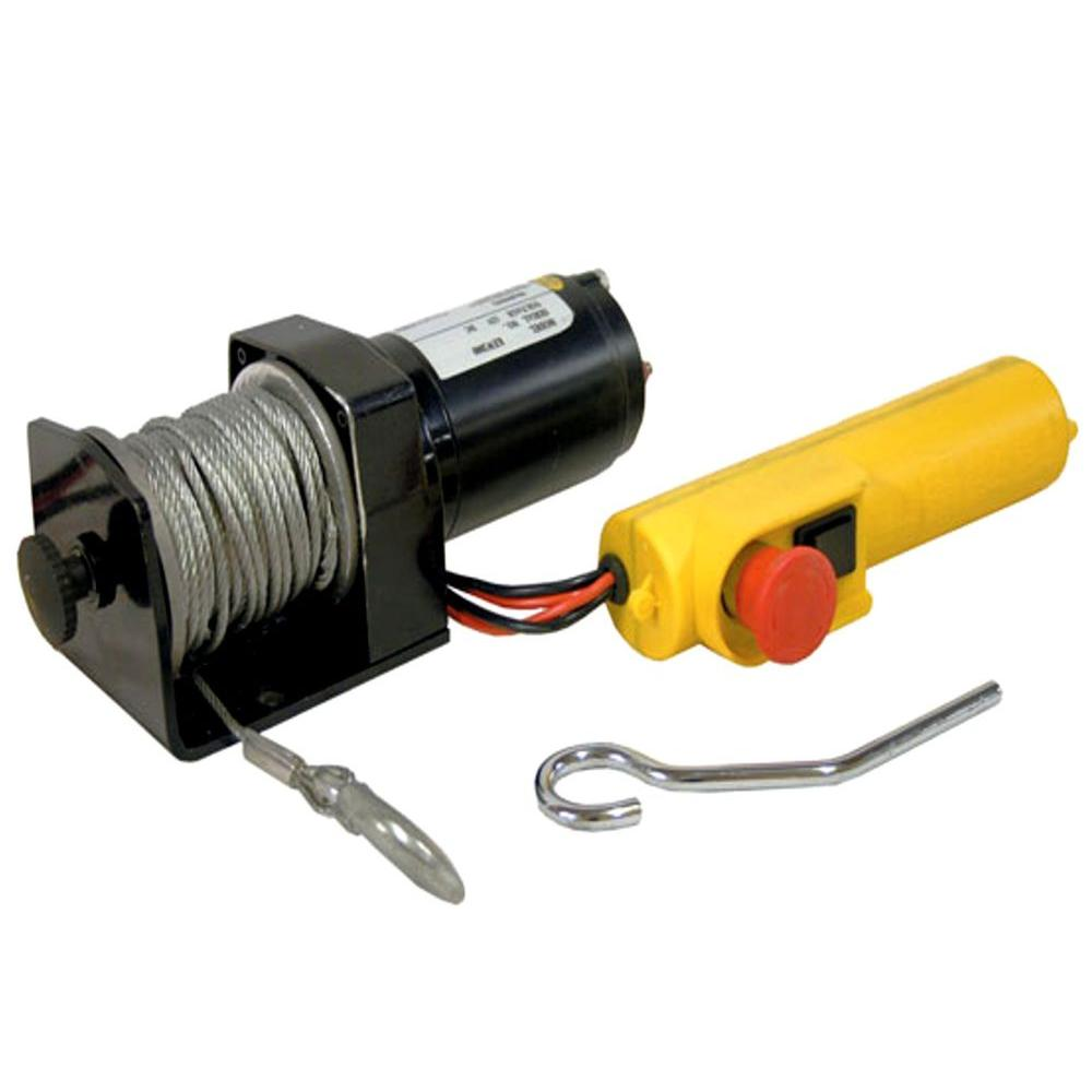 SPEEDWAY ATV Winch with 2,000 lb. Capacity