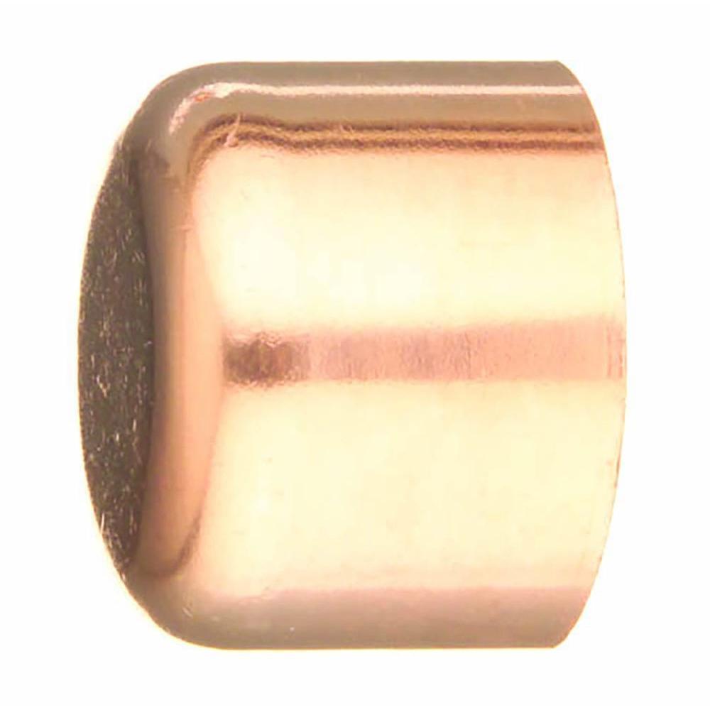 Everbilt 1/2 in. Copper Caps (10-Pack)
