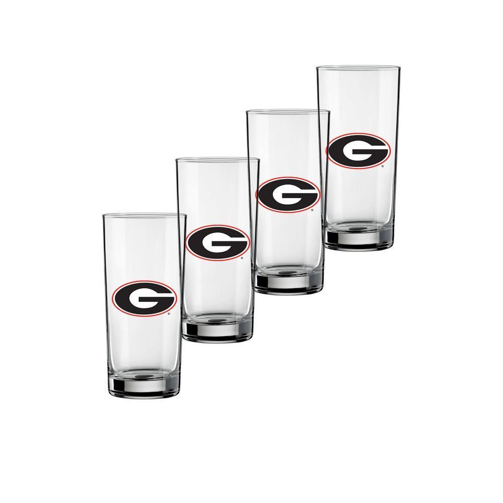 Kraftware Georgia 16 oz. Tall Beverage Glass (Set of 4)