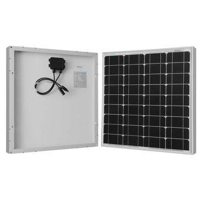 50-Watt MonoPolycrystalline Solar Panel for RV's 12-Volt Solar System and Back-Up System