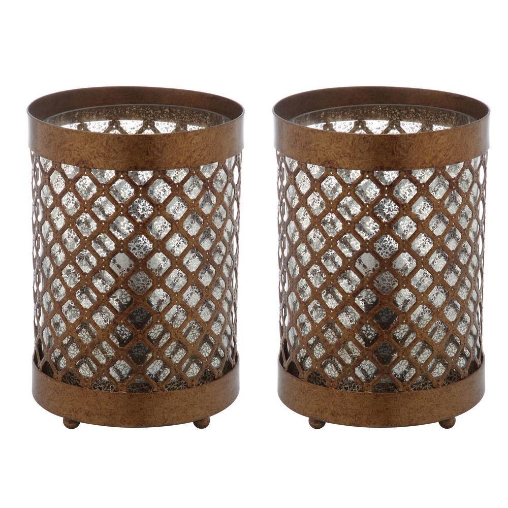 Metal Ball Lamp Shade: Safavieh Nola 16 In. Clear Stacked Crystal Ball Lamp (Set