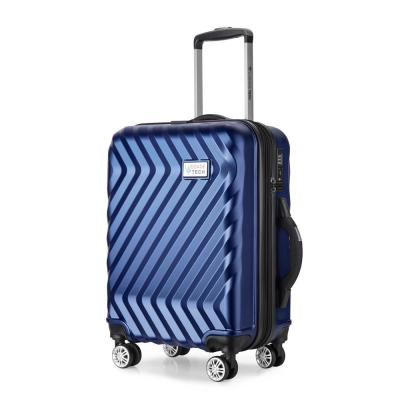 Luggage Tech Monaco Collection 20 in. Smart Luggage - Navy