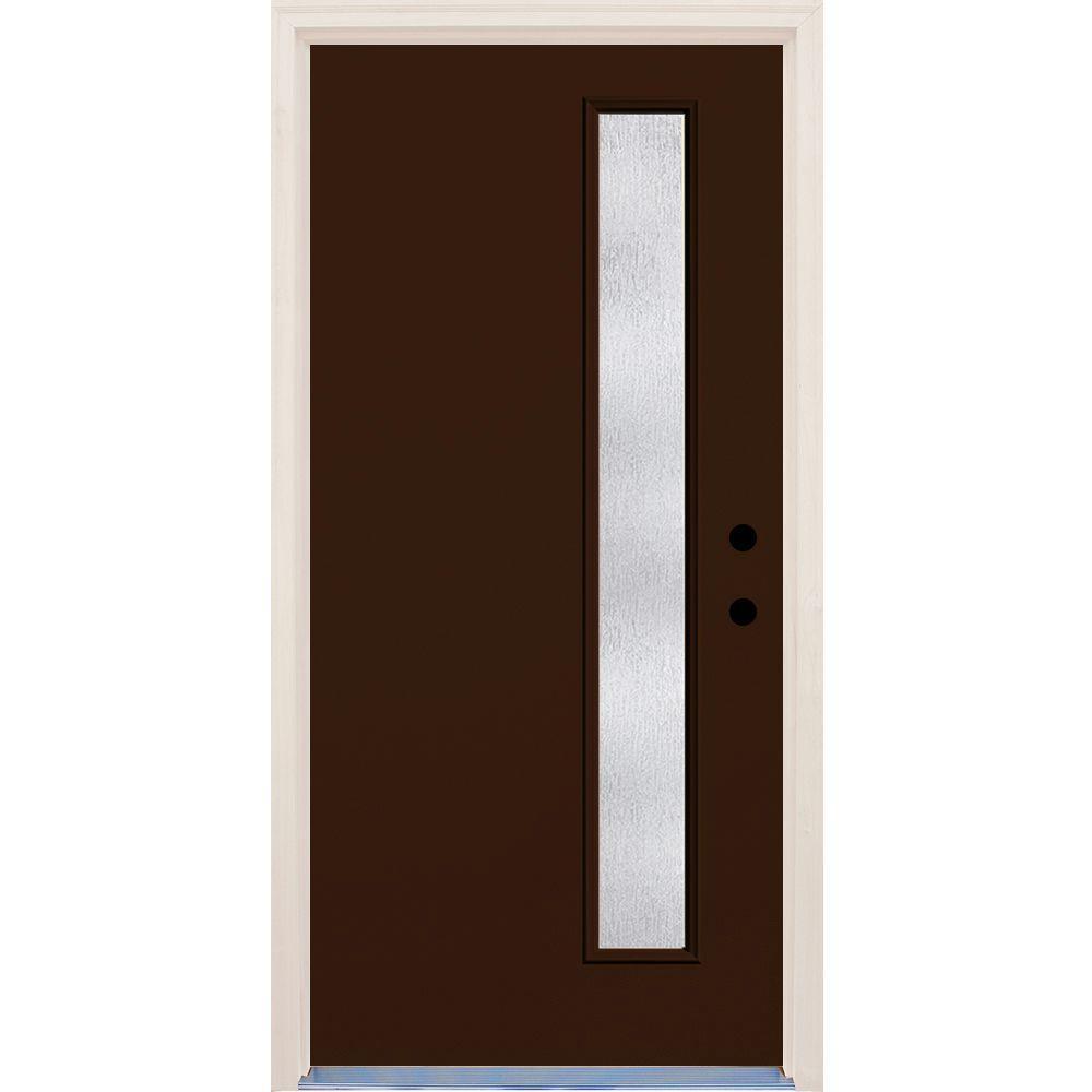 brown front doorModern  Brown  Front Doors  Exterior Doors  The Home Depot
