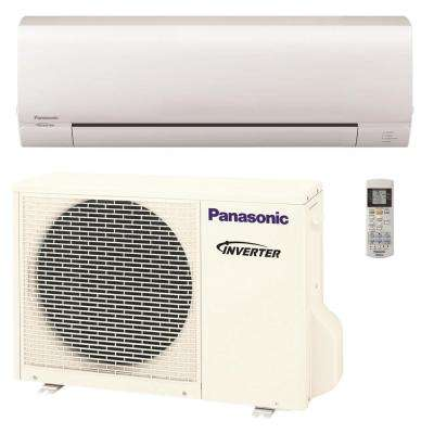 12,000 BTU 1 Ton Pro Series Ductless Mini Split Air Conditioner with Heat Pump - 208-230V/60Hz