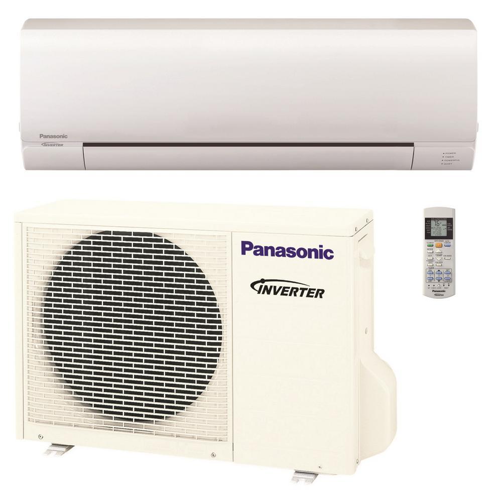 Panasonic 12 000 Btu 1 Ton Pro Series Ductless Mini Split Air