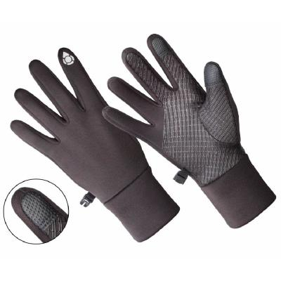 Black Texting Gloves Ladies Touch Screen Smart Phone Compatible Wrist Length