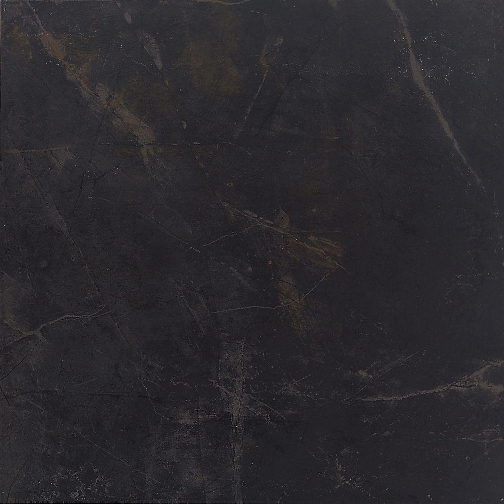 Daltile Concrete Connection Downtown Black 13 in. x 13 in. Porcelain Floor and Wall Tile (14.07 q. ft. / case)