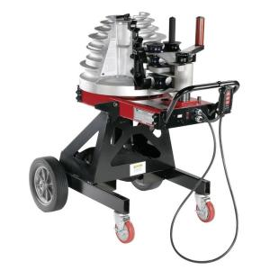 Click here to buy Gardner Bender 1/2 inch - 2 inch Cyclone Electric-Powered Complete EMT, Rigid, IMC Conduit Bender by Gardner Bender.