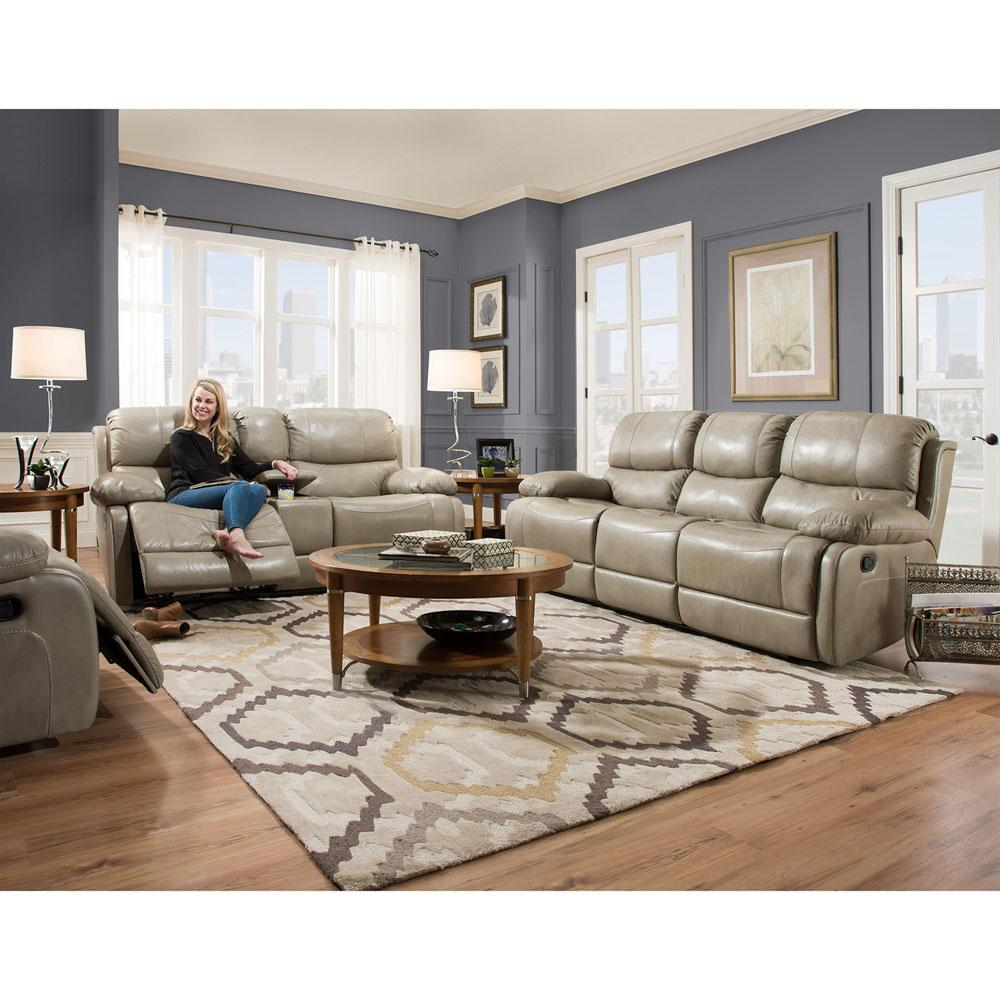 Cambridge austin 3 piece gray living room set 98525a3pc gr for Living room austin