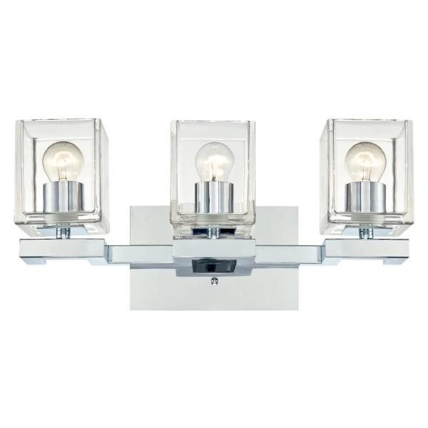 Westinghouse Cava 22 Watt Chrome Integrated Led Wall Mount