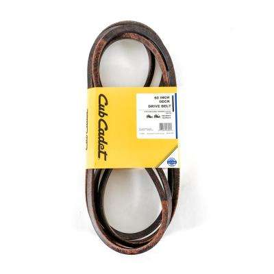 60 in. Deck Drive Belt for Z-Force L, LX, LE, S and SX Riding Mower