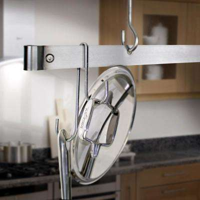 Handcrafted 7.25 in. Stainless Steel Double Level Hook (6 Pack)