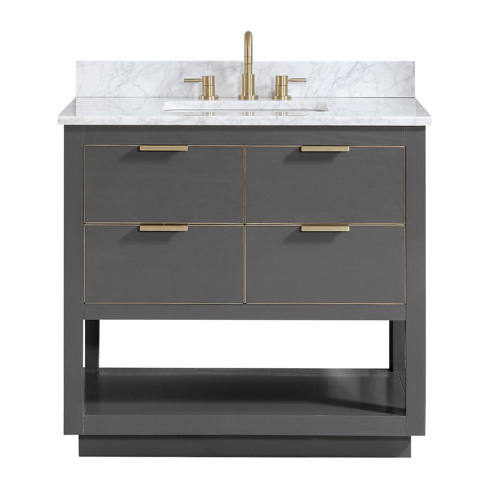 Allie 37 in. W x 22 in. D Bath Vanity in