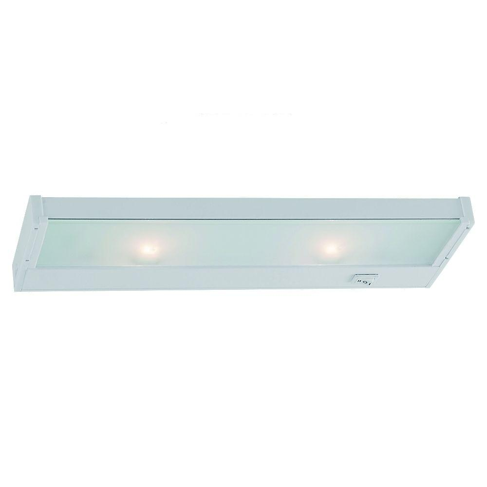 Sea Gull Lighting Ambiance 2-Light 120-Volt Self-Contained White Xenon Task Lighting