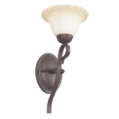 Tutt 1-Light Oil-Rubbed Bronze Sconce