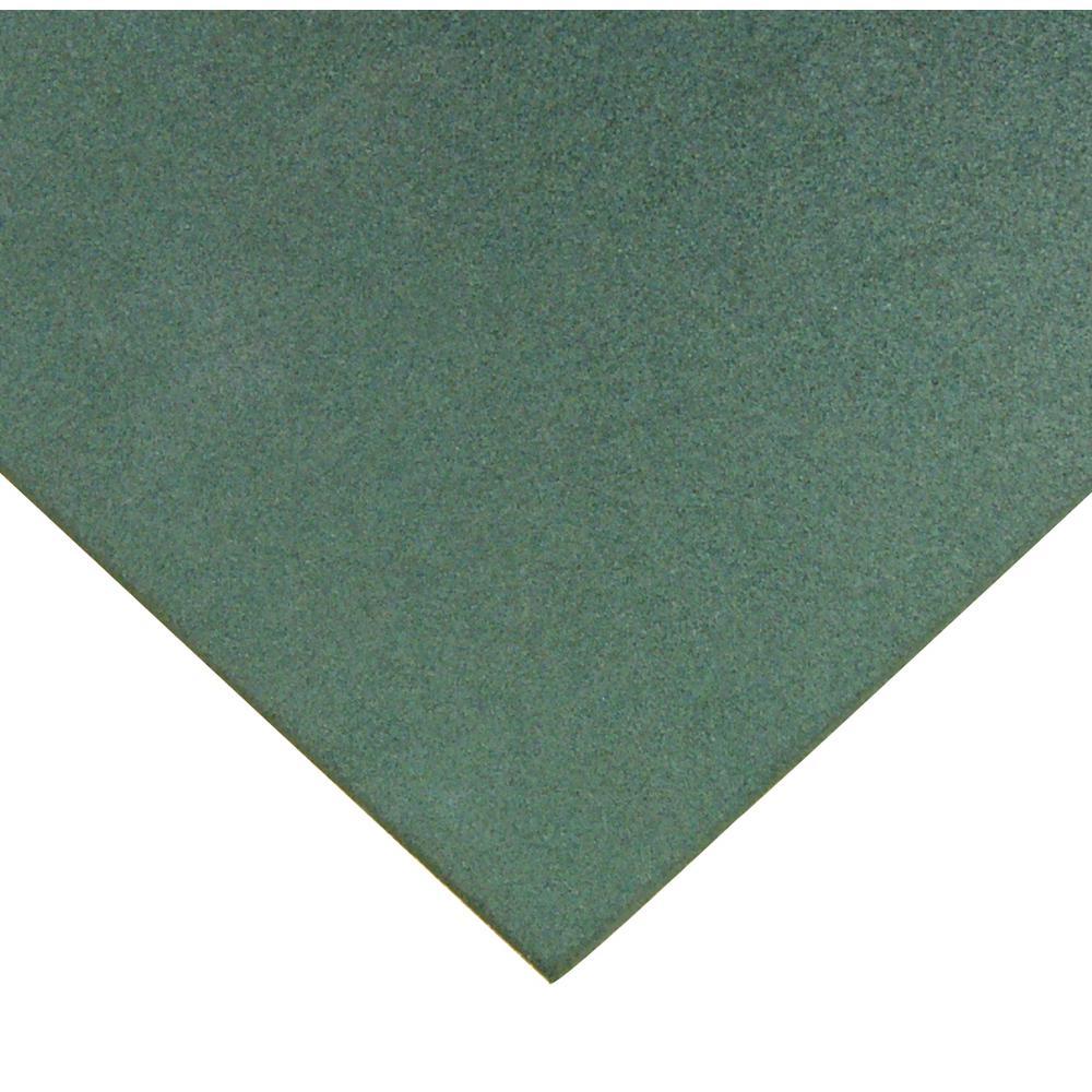 Eco-Sport 1 in. T x 1.66 ft. W x 1.66 ft. L Green Interlocking Rubber Flooring Tiles (66.7 sq. ft.) (24-pack)